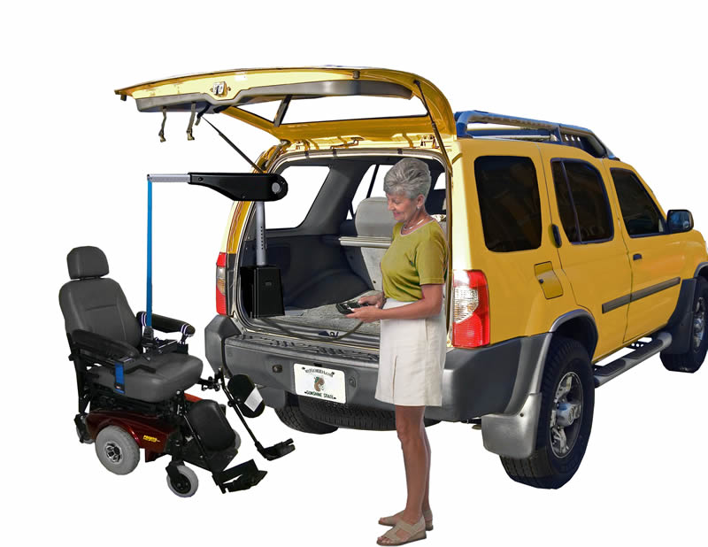Transporting a Wheelchair or Scooter Inside a Van or SUV
