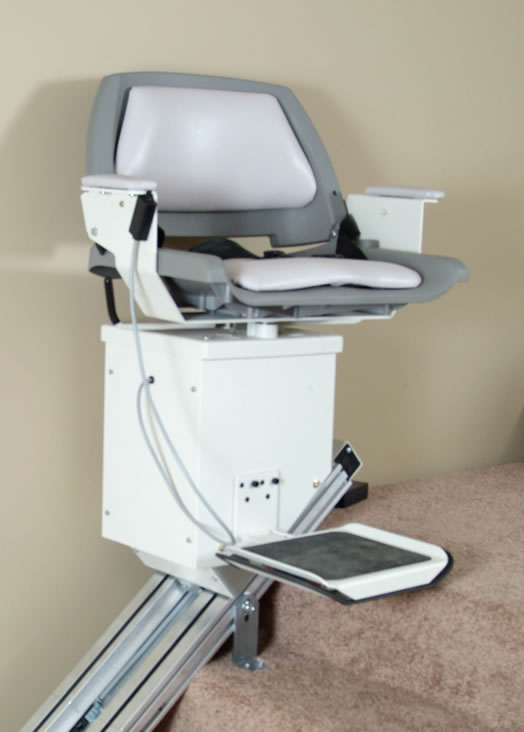 Comparing battery powered and electric stair lifts for Motorized stair chair lift