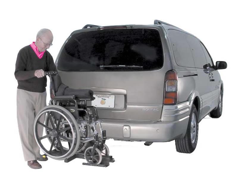 Harmar Tilt N Tote Manual Wheelchair Carrier