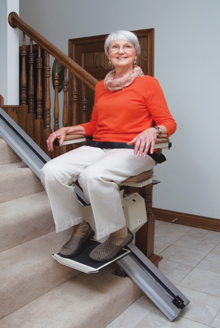 lift harmar summit chair outdoor straight stair