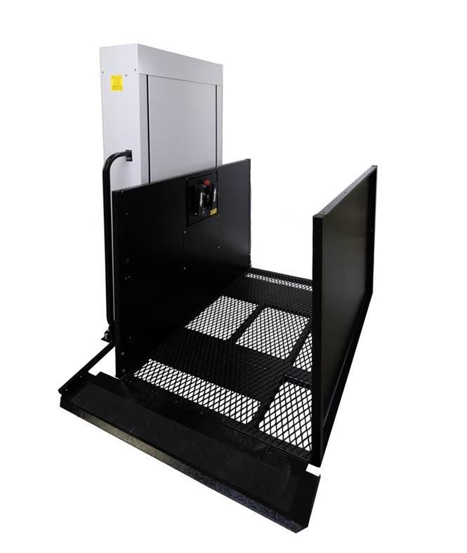 RAM Residential Vertical Platform Lift | Home Wheelchair Lifts ...