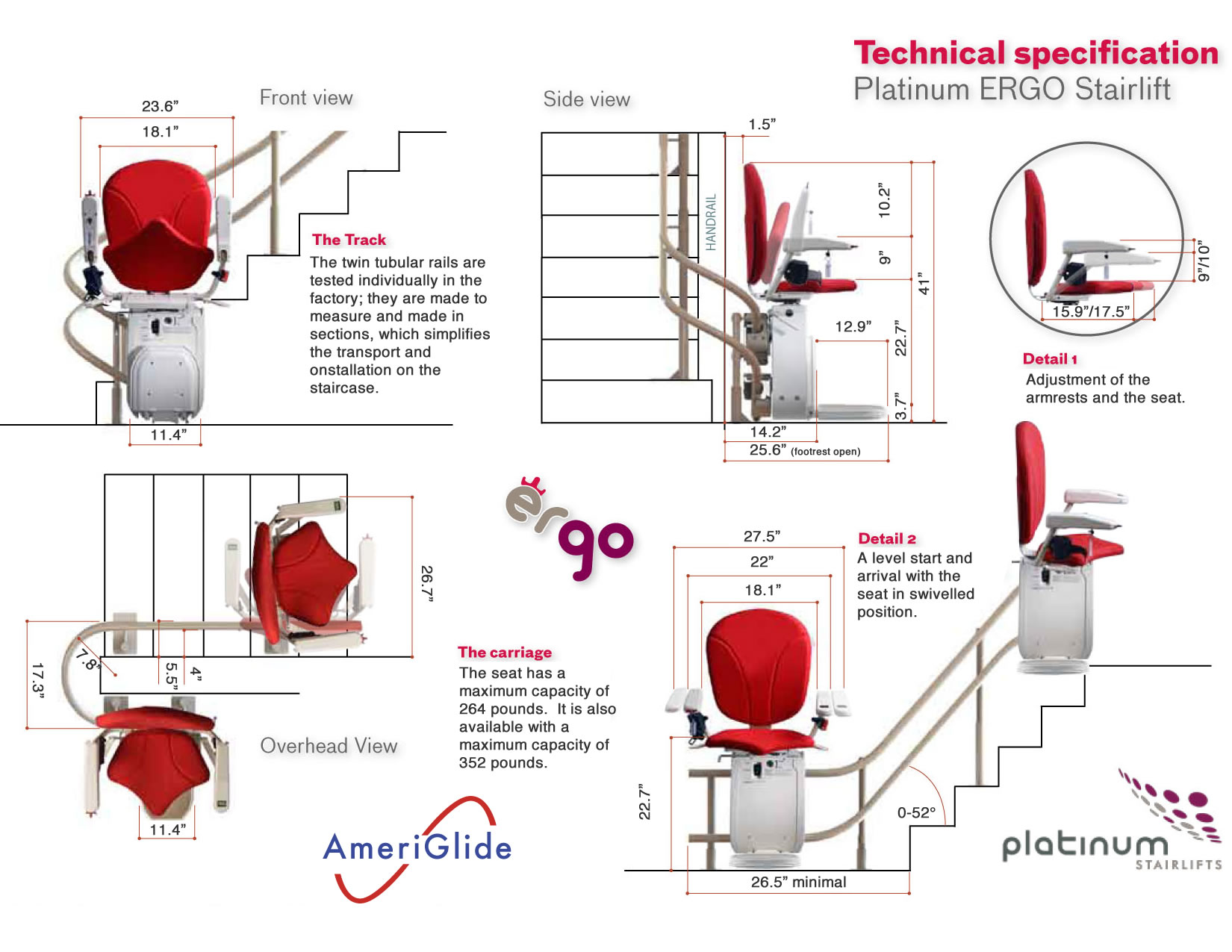 Ameriglide Stair Lifts Curved Lift. Ergo Seat Specifications Curved Lift Confirmation. Wiring. Ameriglide Stair Lift Chair Wiring Diagram At Scoala.co