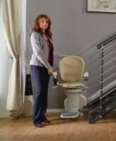 AmeriGlide Horizon Plus Stair Lift w/Power Swivel